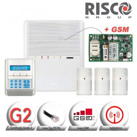 KIT VIA RADIO + GSM AGILITY Risco