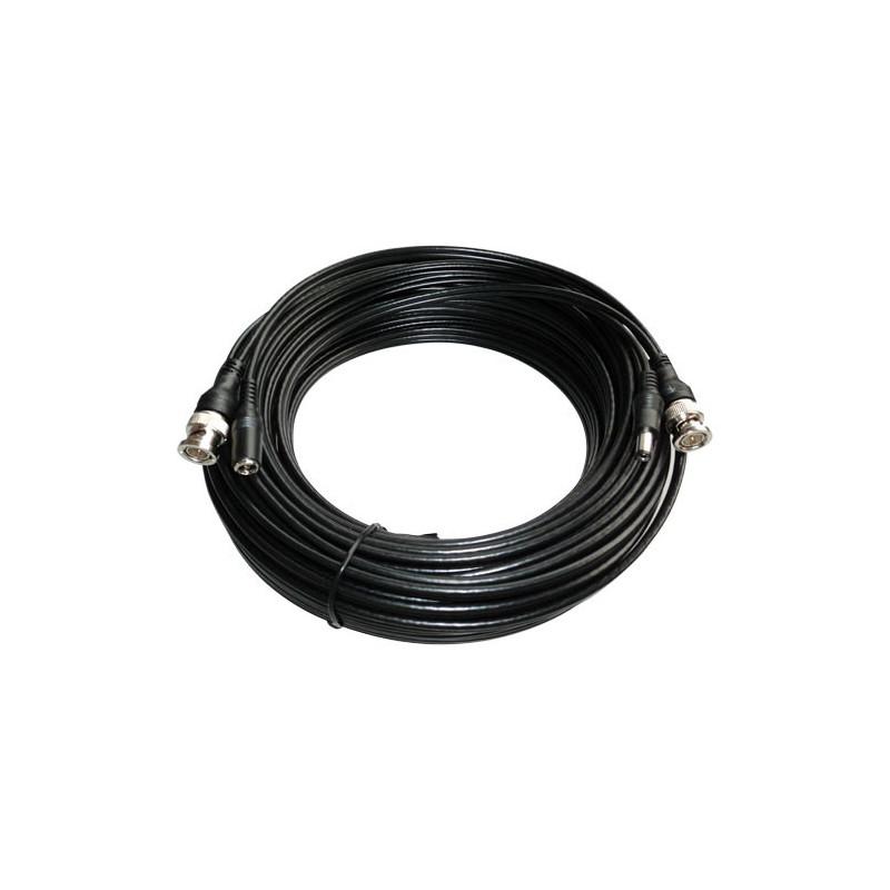 Cable prolongador para señales de vídeo + alimentación 10 m