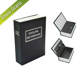 Caja fuerte camuflada en libro