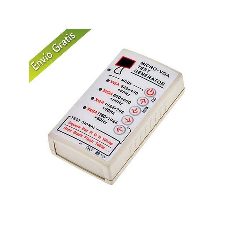 Generador de barras TEST VGA SVGA XGA SXGA