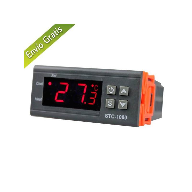 Termostato digital con salida a 2 rel s - Termostato digital precio ...