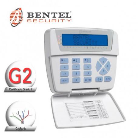 Teclado LCD para centrales BENTEL, serie CLASSIKA