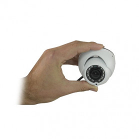 Cámara minidomo dual HDCVI y analógica 720P (25FPS) / 1000 TVL
