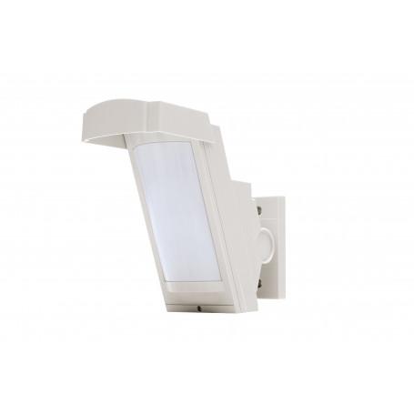 Detector con doble PIR para exteriores con antienmascaramiento. Cobertura 12m /85º
