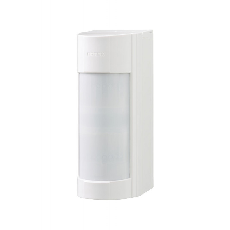 Detector doble tecnología autoalimentado para exteriores. Cobertura 12m /90º