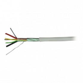 Cable 4 hilos + 2 alimentacion 100m