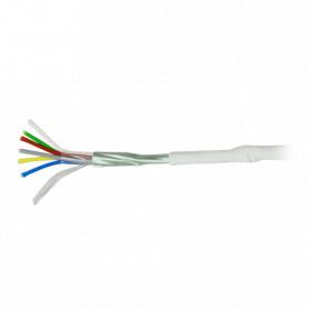 Cable 6 hilos libre de halógenos 100m