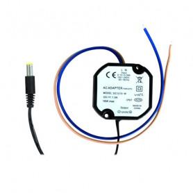 Alimentador electrónico miniatura. Salida 12 V / 1500 mA.