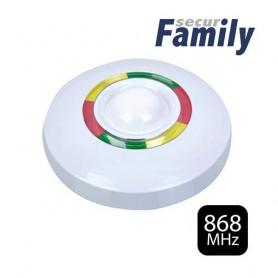 Detector inalámbrico de techo ( 360 º ) Doble tecnología ( PIR + Microondas )