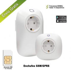 Enchufes remotos GPRS / GSM