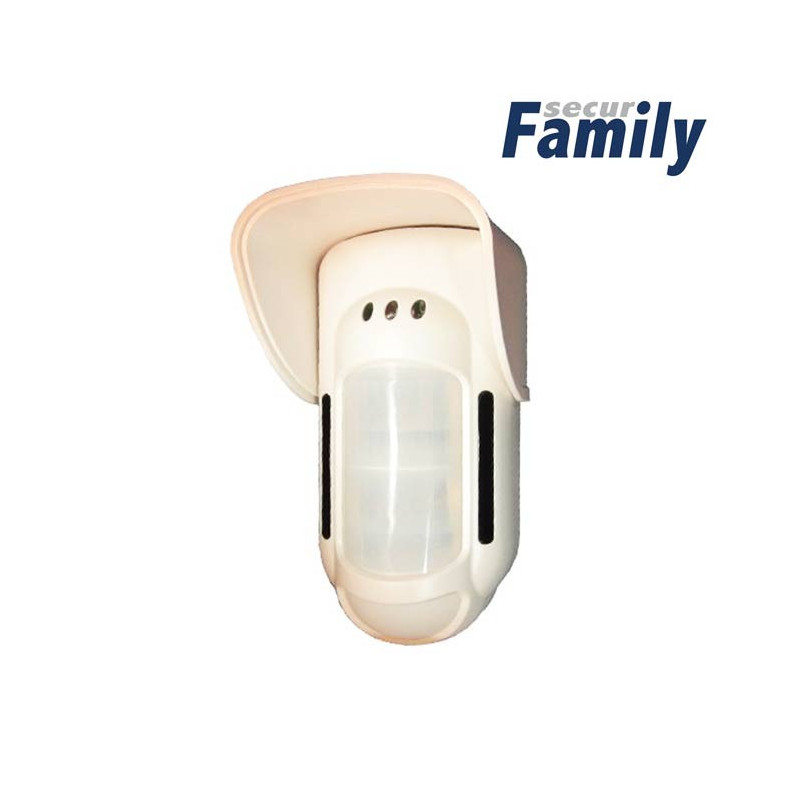 Detector Exterior inalámbrico para Family