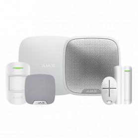 Kit de alarma Ajax – Básico + Dos sirenas – Blanco