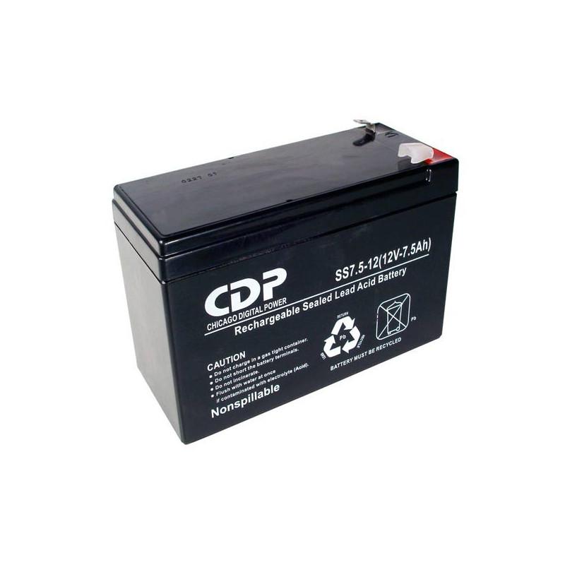 Bateria de seguridad 12V/7A