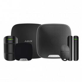 Kit de alarma Ajax – Básico + Dos sirenas – Negro