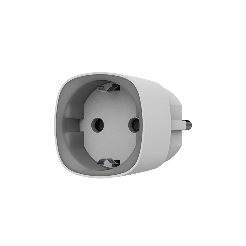 Enchufe inteligente con control remoto – Medidor de consumo - Color blanco