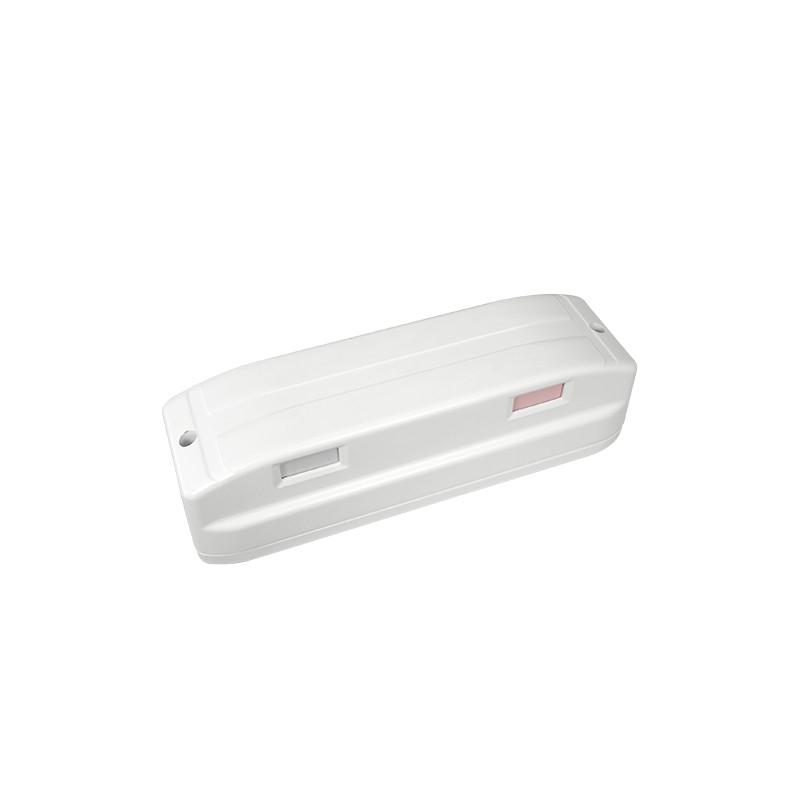 Detector PIR – Doble PIR tipo cortina - Alcance detección 9 m por cada lado