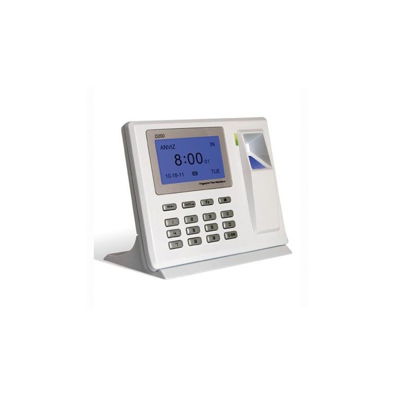 Control Horario Biométrico 2000 huellas montaje en pared o sobremesa