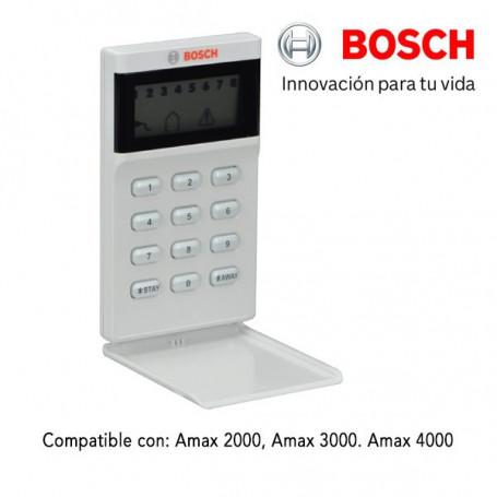 Teclado de 8 zonas LCD Iconos para central AMAX 2000