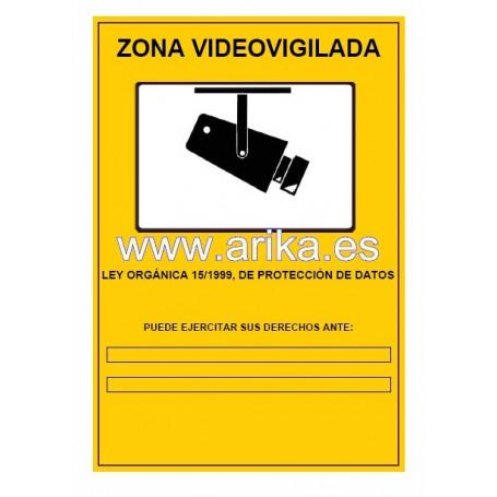 Cartel Obligatorio CCTV