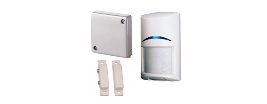Detectores cableados para alarmas
